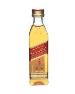 Johnnie Walker Red Label (Mini) fles 5cl