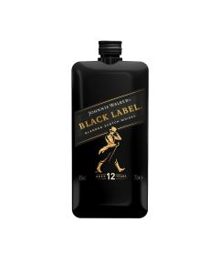 Johnnie Walker Black Label Pocket Scotch (Mini) fles 20cl