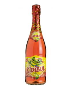 Kidibul Appel-Aardbei fles 75cl