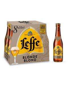 Leffe Blond clip 8 x 33cl