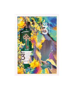 London Dry Gin N3 geschenk 70cl + glas