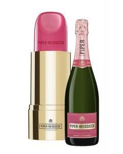 Piper Heidsieck Lipstick Rosé fles 75cl