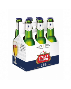 Stella Artois 0,0% clip 6 x 25cl