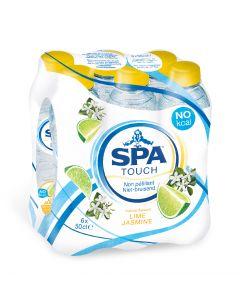 Spa Touch Still Lime-Jasmin clip 6 x 50cl