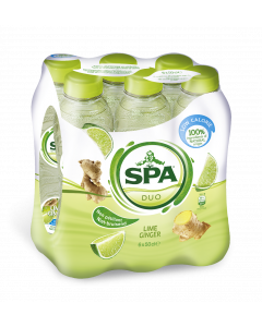 Spa Duo Lime-Ginger pet 6 x 50cl