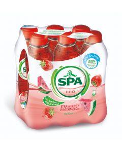 Spa Duo Strawberry-Watermelon pet 6 x 50cl