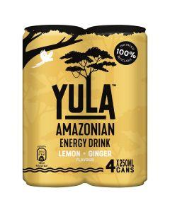 Yula Lemon + Ginger 4 x 25cl