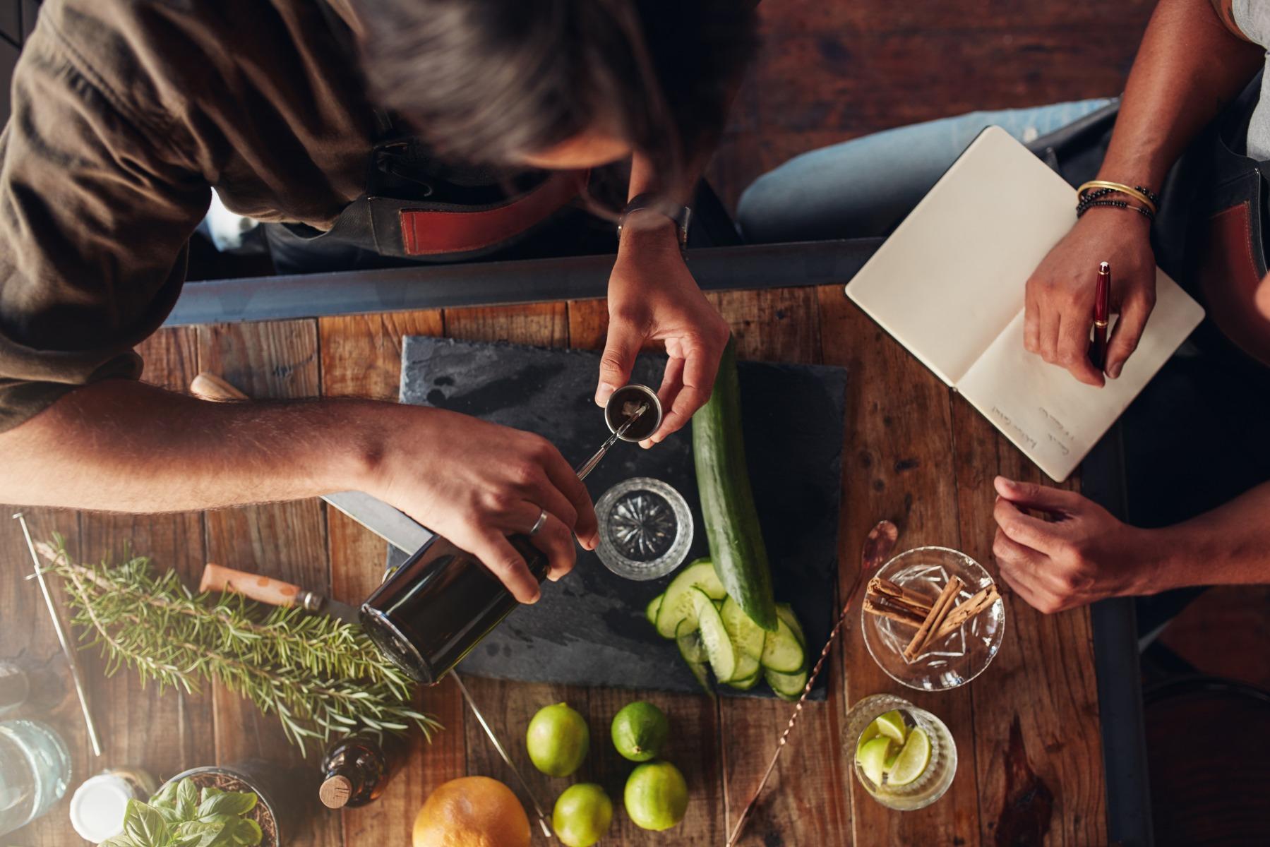 PrikenTik - Bartender - zoet zuur balans