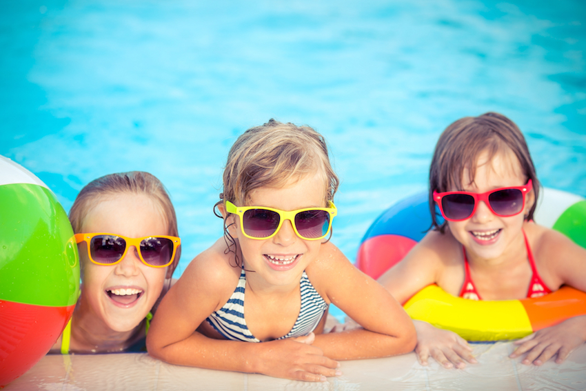 Prik en Tik - Pool party - Zwembad kinderen
