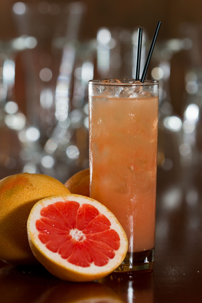 PrikenTik - Bartender - Grapefruit Collins