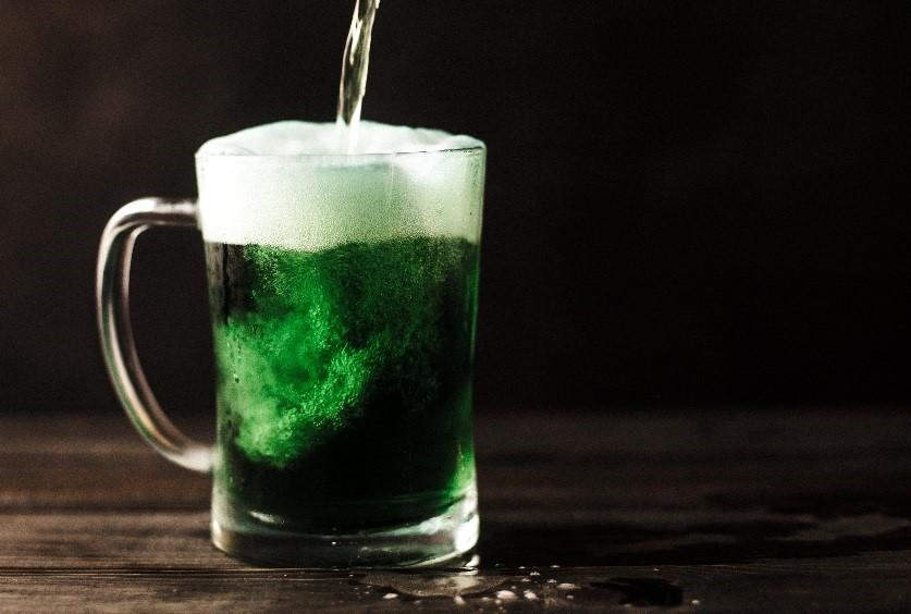 Groen pintje