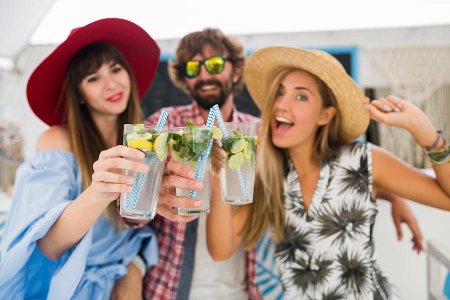 Prik&Tik - 5 cocktails met weinig calorieën - Schol