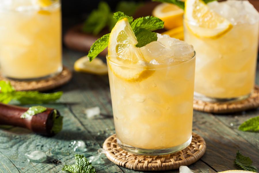 Prik&Tik - Cocktails met whisky - Whisky Smash