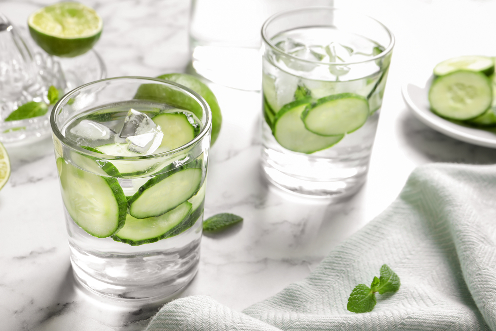 Cucumber Tom Collins