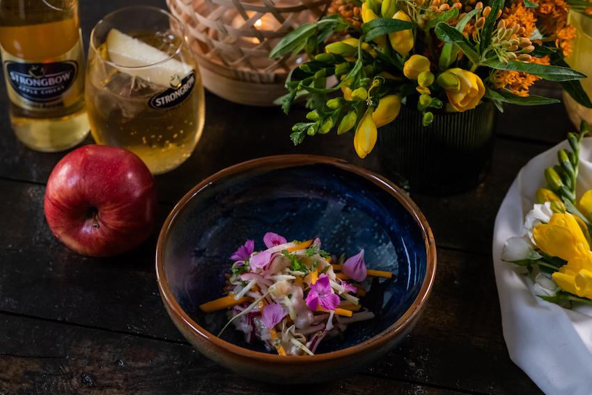 Prik en Tik - Cider - Ceviche van wijting