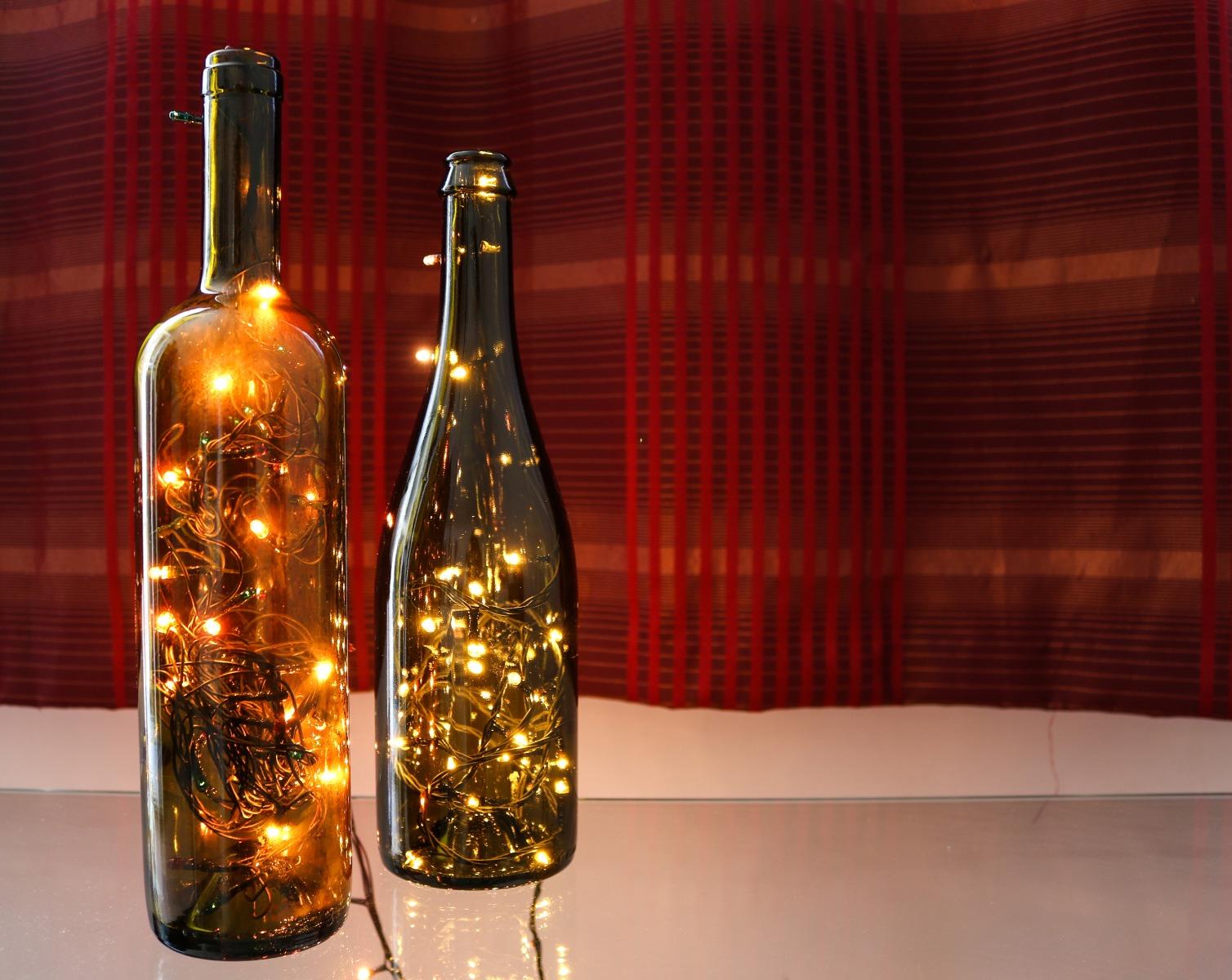 PrikenTik wijnflessen - fonkelflessen