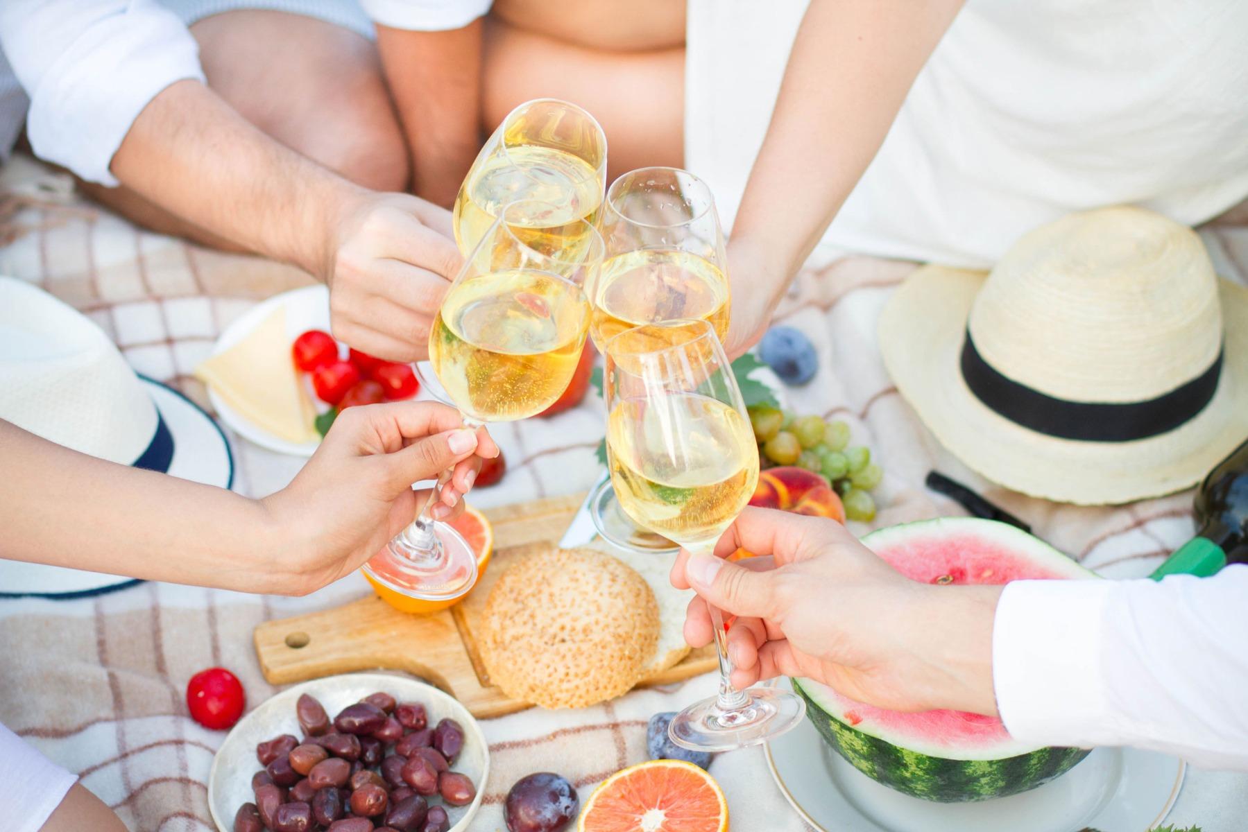 PrikenTik wijnstreken - Foodpairing - picknick