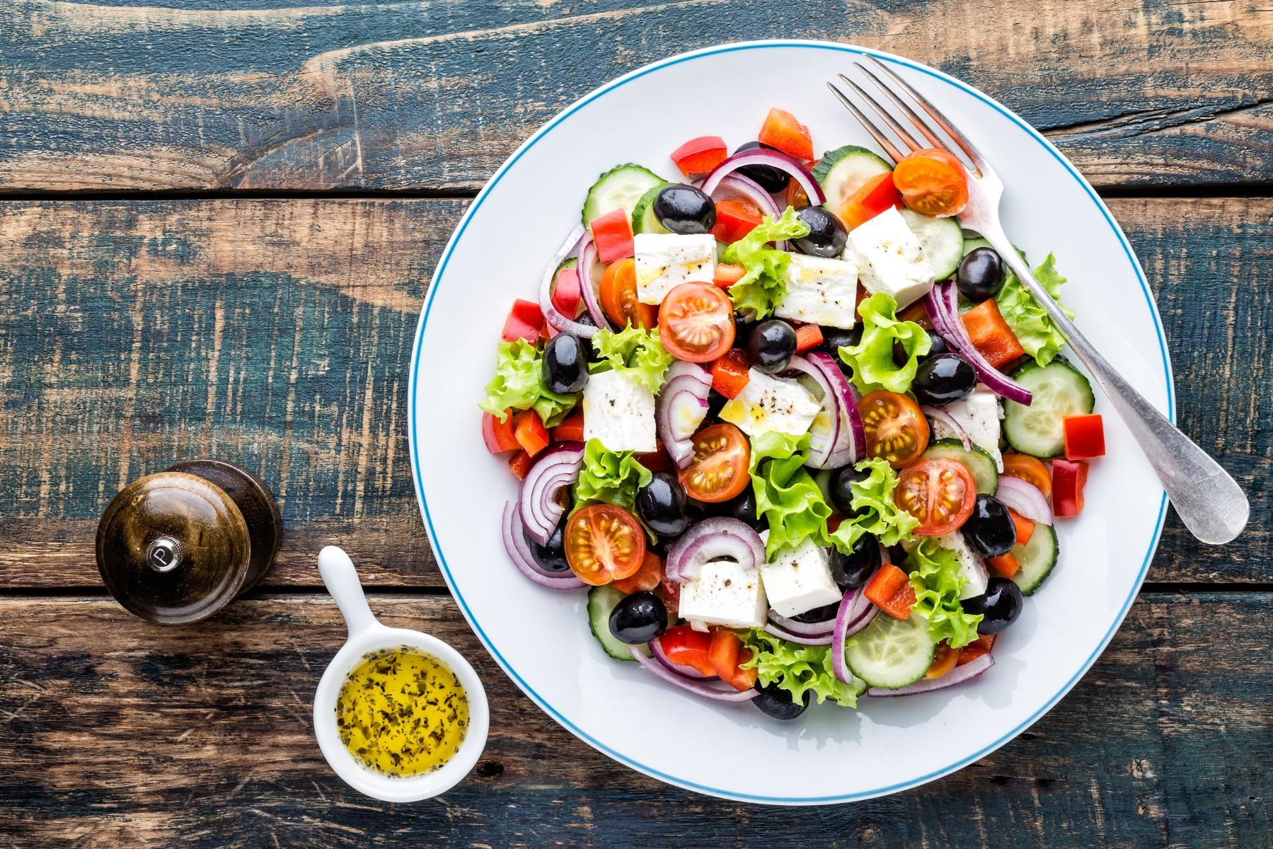 PrikenTik - wijnstreken - foodpairing - griekse salade