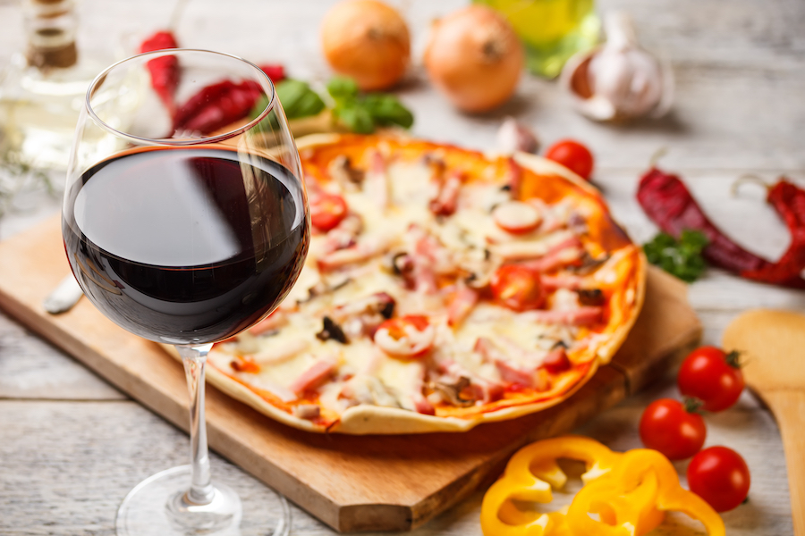 Prik&Tik - Wijnpairing - Welke wijn bij pizza?